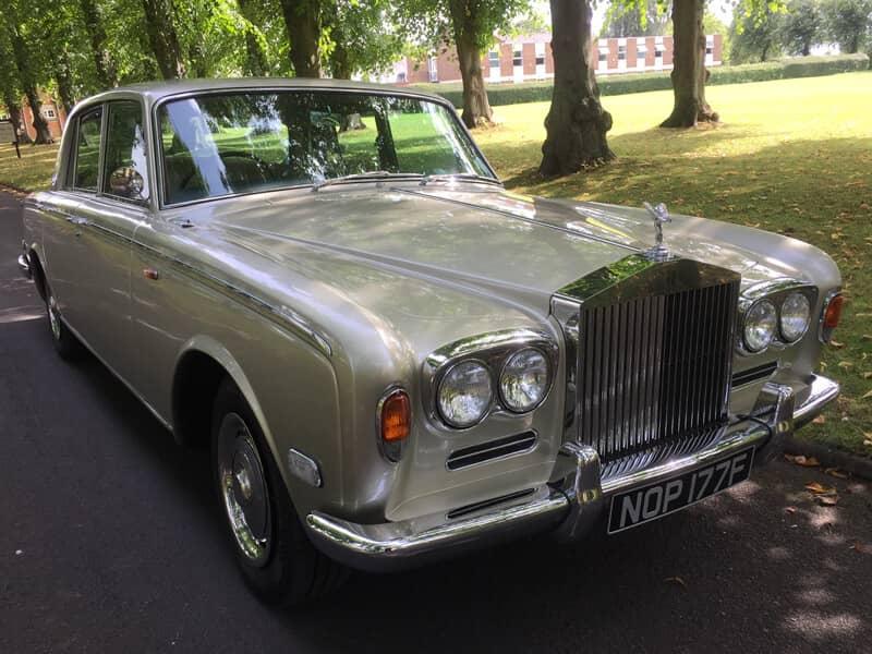 Rolls Royce Wedding Cars Warwickshire