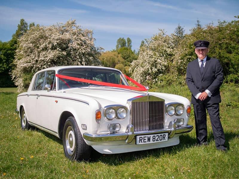 White Rolls Royce Wedding Car Hire